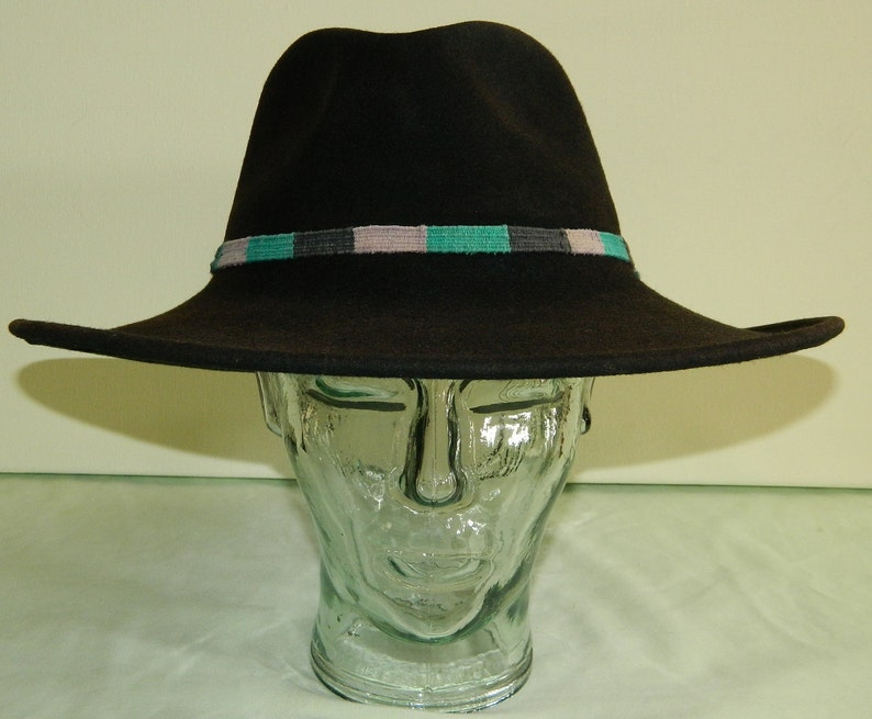 247475de84e93 7-3 8 Bailey Wind River Soft Felt Black Cowboy Hat Reservation