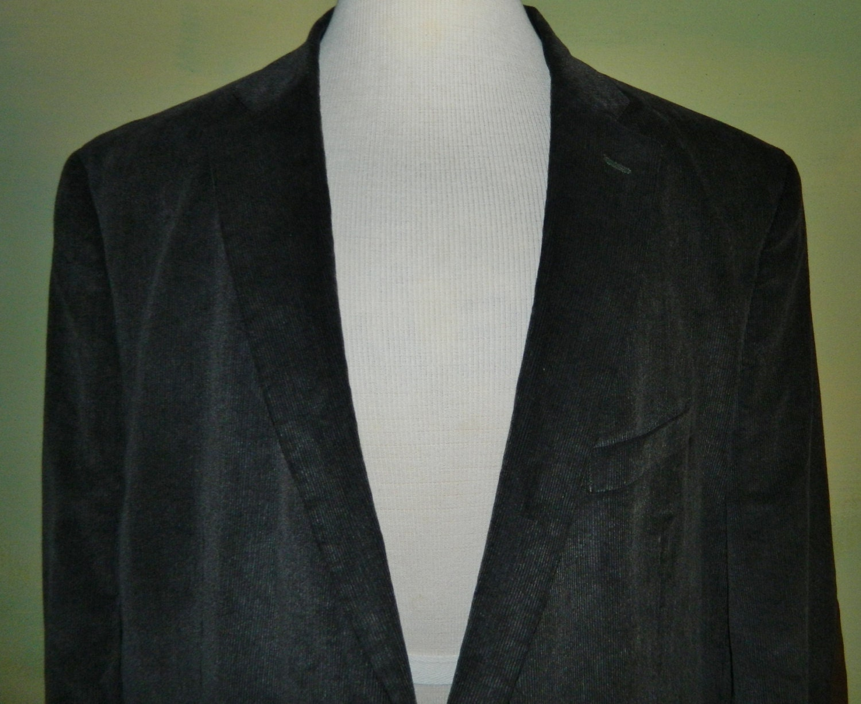 f72b596091aa5 50 50R Ralph Lauren Chaps coton veste en velours côtelé côtelé velours cuir  coude Patches joint