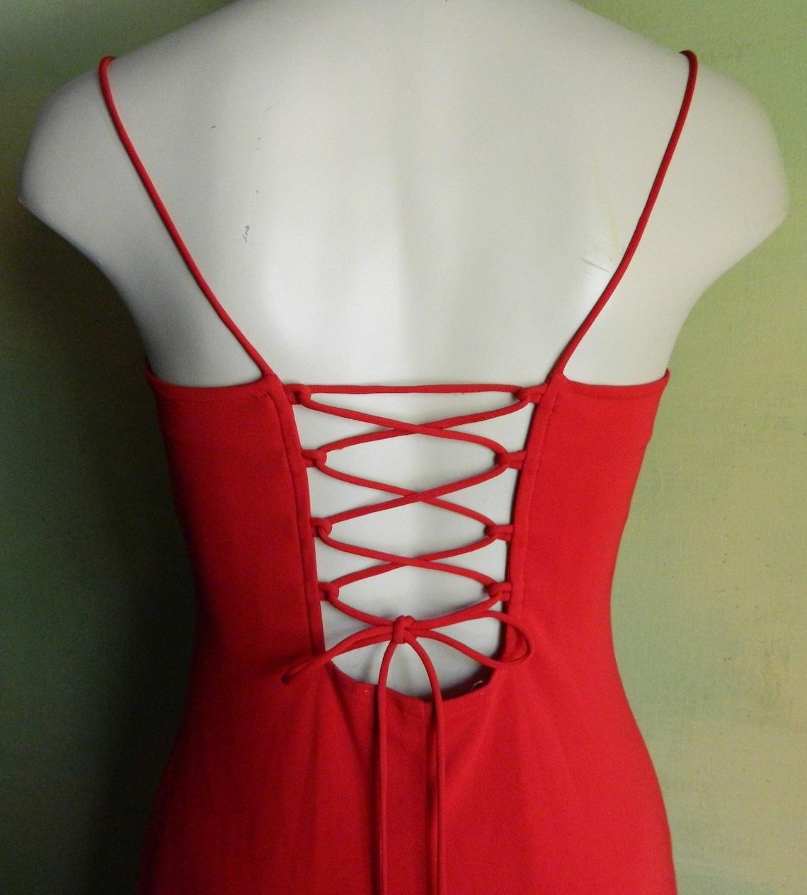 7 M Red Hot Zum Zum by Niki Livas Stretchy Knit Sleeveless
