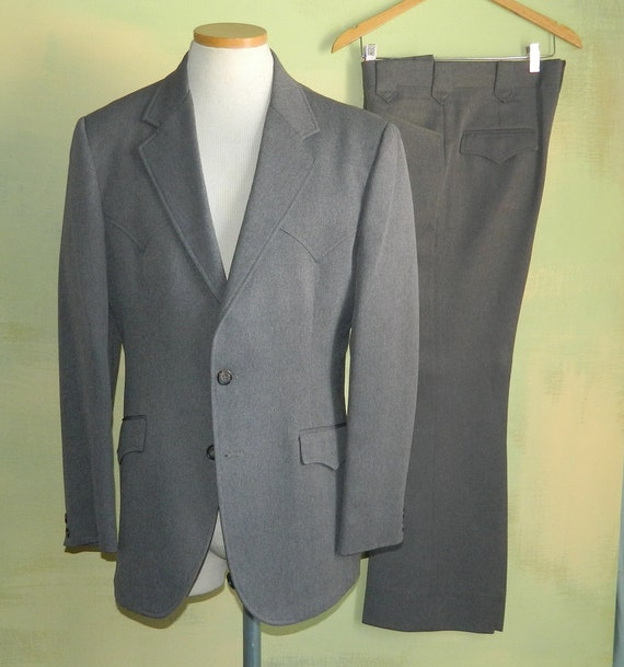 40 80s Western Suit Roper Circle S Made in the U.S