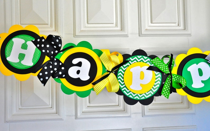 XL Tractor Birthday Banner Tractor Farm Party Backdrop Tractor Birthday Party Decorations Tractor Party Banner