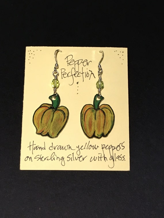 Pepper Perfection earrings