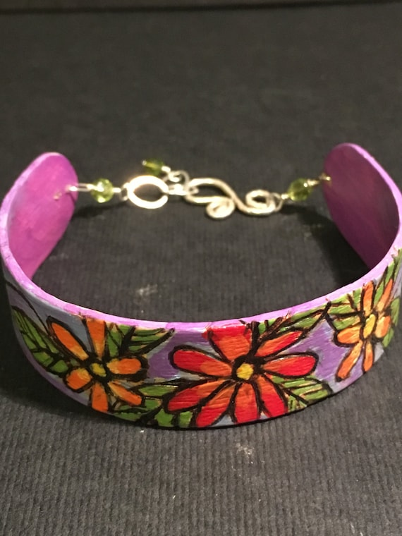 """Bracelet """"When I Dream, I Dream of Flowers"""""""