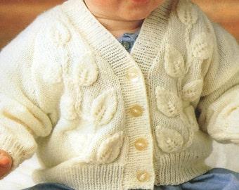 3b096281120e8 PDF Knitting Pattern / Baby Knitting Pattern / Hug-Me-Tight | Etsy