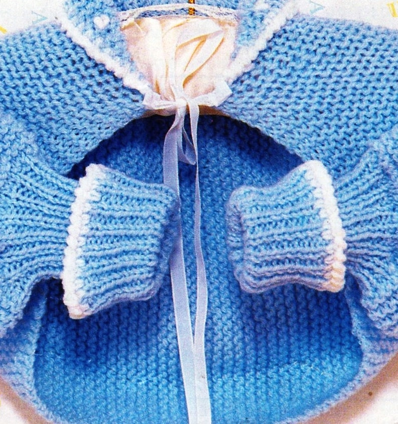 c00069ec9033 PDF Knitting Pattern   Baby Knitting Pattern   Hug-Me-Tight