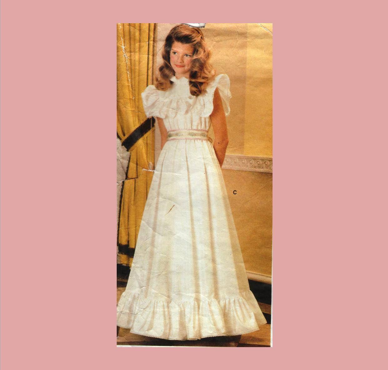 Vintage Sewing Pattern / Little Vogue 1339 / child\'s dress