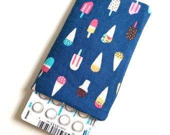 Pill Case Birth Control Sleeve- Ice cream dreams