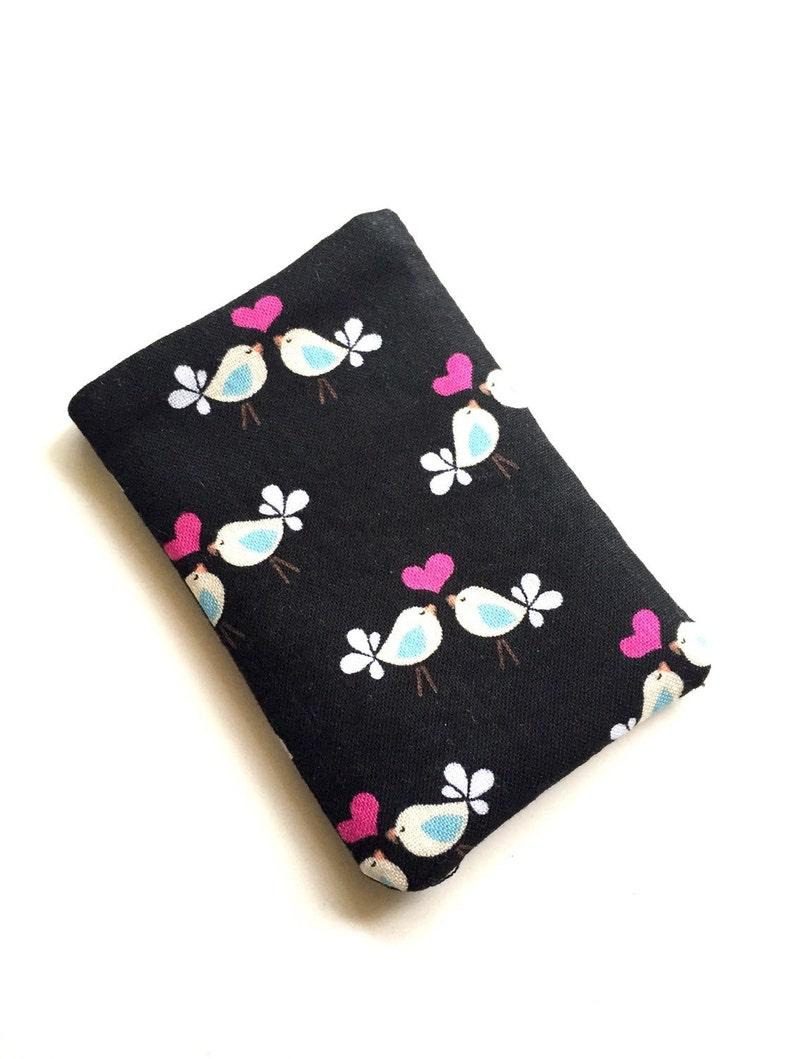 Limited quantity Pill Case Birth Control Pill cozy Tiny Love Birds