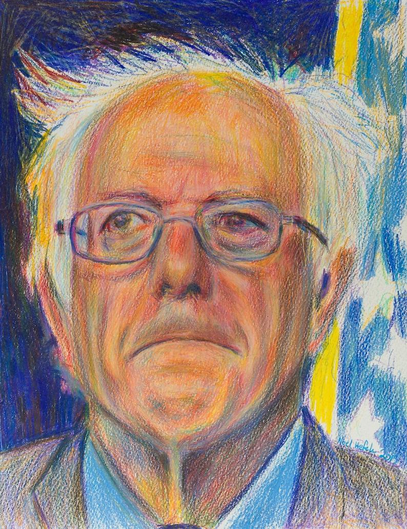 Bernie Sanders gicleé print image 0