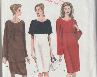 dfe4e2974d19e Vogue 8909 Misses' Dress, Tunic and Skirt Sizes 20, 22, 24 Plus Size  Vintage UNCUT Pattern Rare and OOP