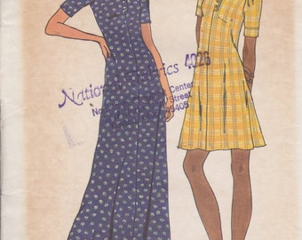 Butterick 3633 Misses' Dress Size 14 Vintage UNCUT Pattern Rare and OOP