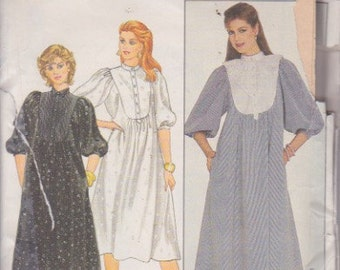 Butterick 4473 Misses' Dress with Inset Sizes 12, 14, 16 Vintage UNCUT Pattern Rare and OOP