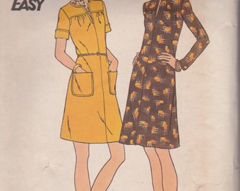 Butterick 3324 Misses' Dress Size 14 Vintage UNCUT Pattern Rare and OOP