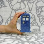 Ready to Ship: TARDIS Ceramic Miniature