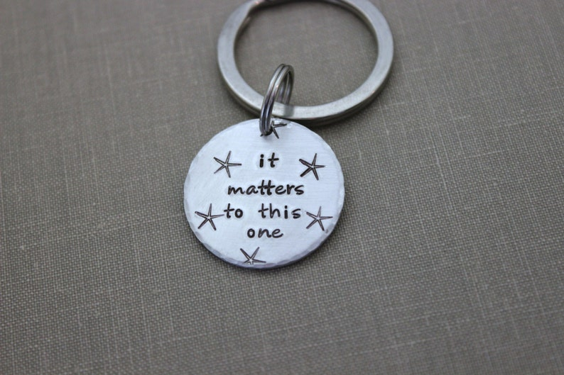 it matters to this one  the starfish story  Silver Aluminum image 0