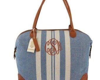 Monogrammed Hampton Weekender Bag