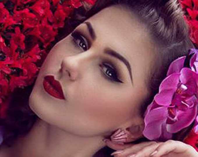 Confetti Lucite Art Deco Shell Tender Pink - Earrings - Glitter Earrings - Retro Earrings - 50s - Mid-Century - Pinup - Glitter Paradise®