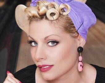 Fakelite Bowling Black & Pink - Earrings - Bowling Skittles - Retro Bowling - Vintage Bowling - Bowling Jewelry - 50s - Glitter Paradise®