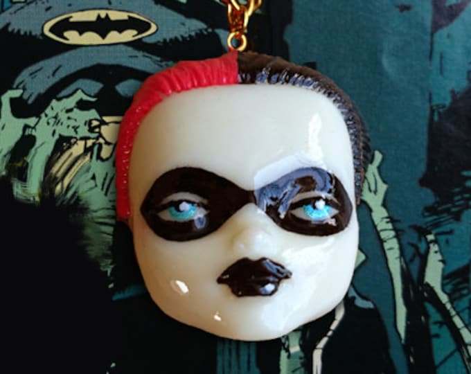 DollFace Harley - Necklace - Harley Jewelry - Harley Necklace - SS Crew - Harley Cosplay - Harley Makeup - Harley Fans - Glitter Paradise®
