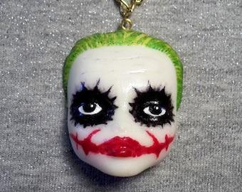 DollFace Joker - Necklace - Joker Makeup - Joker Cosplay - Comics Cosplay - Gotham Doll - Joker Makeup - Joker Lovers - Glitter Paradise®