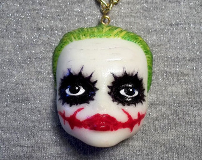 DollFace Joker - Necklace - The Joker - Injustice League - Gotham City - Suicide Squad - DC Comics Batman - Arthur Fleck - Glitter Paradise®