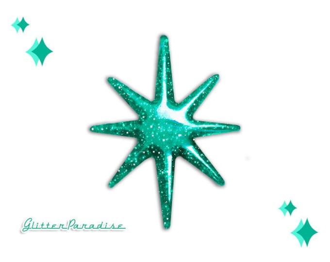 Motel Starlite - Brooch - Starlite Brooch - Starburst Brooch - Retro Star - Motel Star - 50's - Mid-Century Modern - Glitter Paradise®