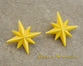 Starlite Small - Earrings - Starlite Earrings - Starburst Earrings - Retro Star - Motel Star - 50's - Mid-Century Modern - Glitter Paradise®