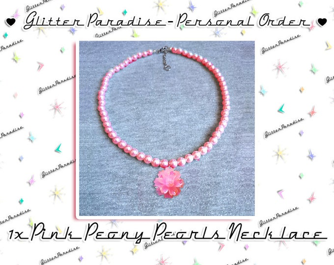 Pink Peony - Necklace
