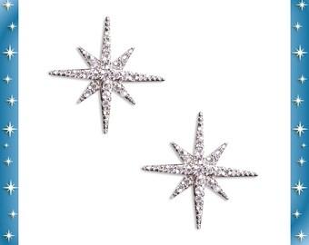 Northern Starlite - Earrings - Starlite - Motel Star - Retro Star - Strass ∾ Nu Retro Finds