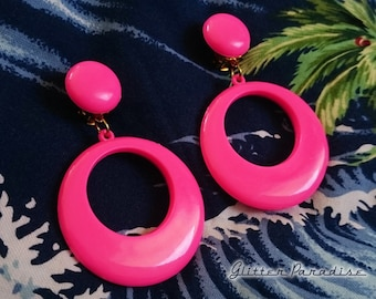 Original Vintage 1950's Hoops & Dômes - Earrings - Vintage Finds - Hoops Earrings - Retro Jewelry - Authentic Vintage - Glitter Paradise®