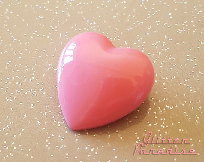 Sweetheart - Brooch - Heart Brooch - Pink Heart - Love Jewerly - I Love You - Valentine's Gift - True Love - I'm in Love - Glitter Paradise®