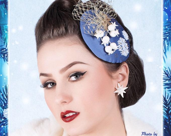 Winter Starlite - Earrings - Starlite Earrings - Starburst Earrings - Retro Star - Motel Star - 50s - Mid-Century Modern - Glitter Paradise®