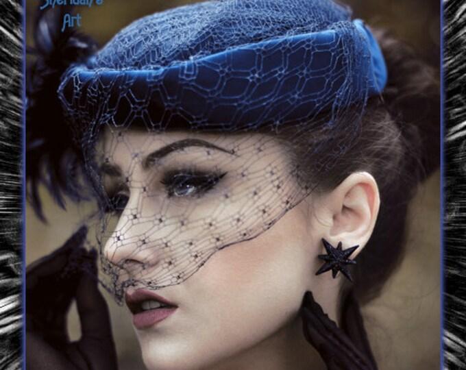 Night Starlite - Earrings - Starlite Earrings - Starburst Earrings - Retro Star - Motel Star - 50's - Mid-Century Modern - Glitter Paradise®