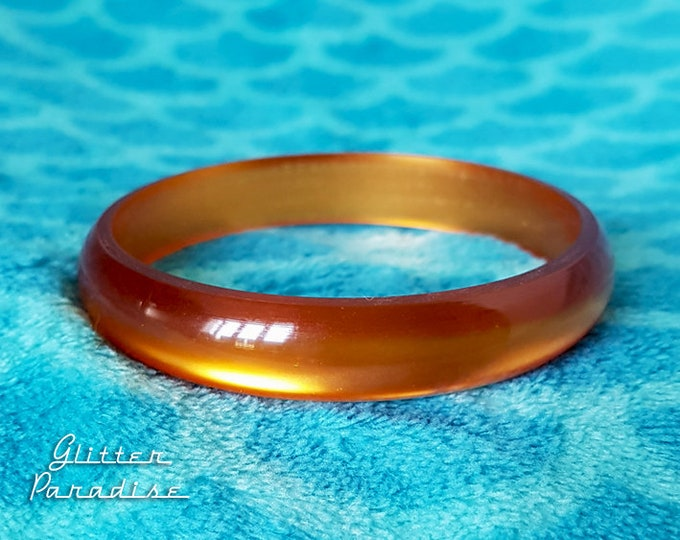 Original Vintage Maple - Bangle - Retro Bangle - Maple Jewelry - 1950 Jewelry - Authentic Vintage Finds - Vintage Inspired Glitter Paradise®