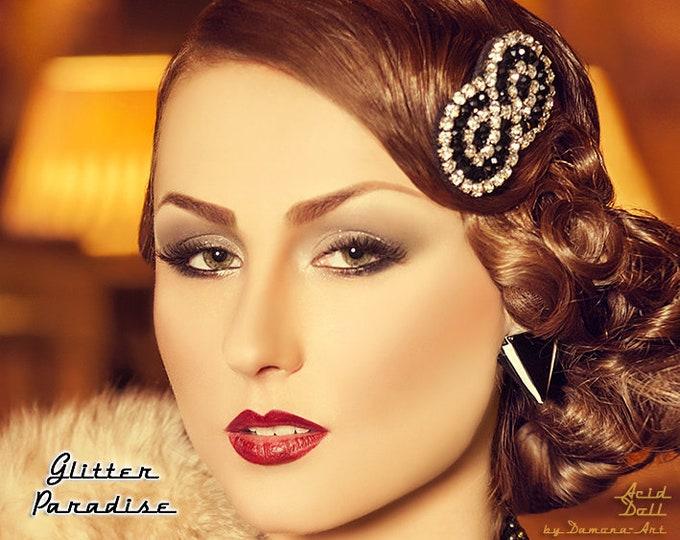 Gatsby Triangle - Earrings - Art-Deco - 1920's - Roaring Twenties - Gatsby Earrings - Charleston - Deco Earrings - Glitter Paradise®