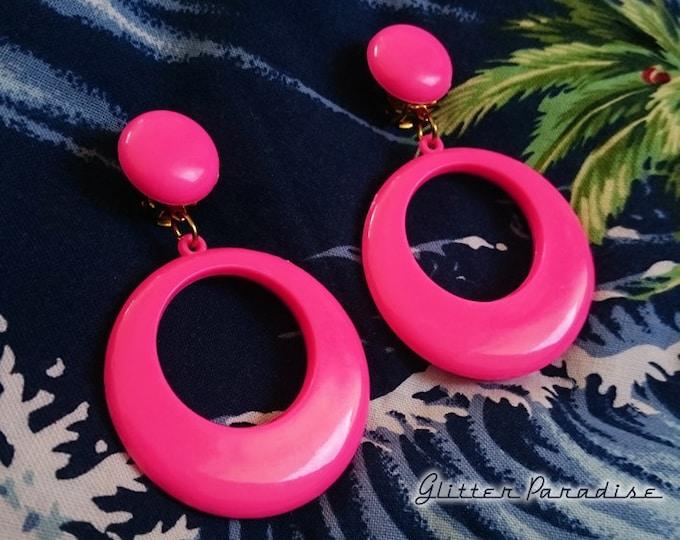Original Vintage 1950's Hoops & Dômes - Earrings - Vintage Finds - Hoops Earrings - Retro Jewelry - Authentic Vintage - Glitter Paradise®