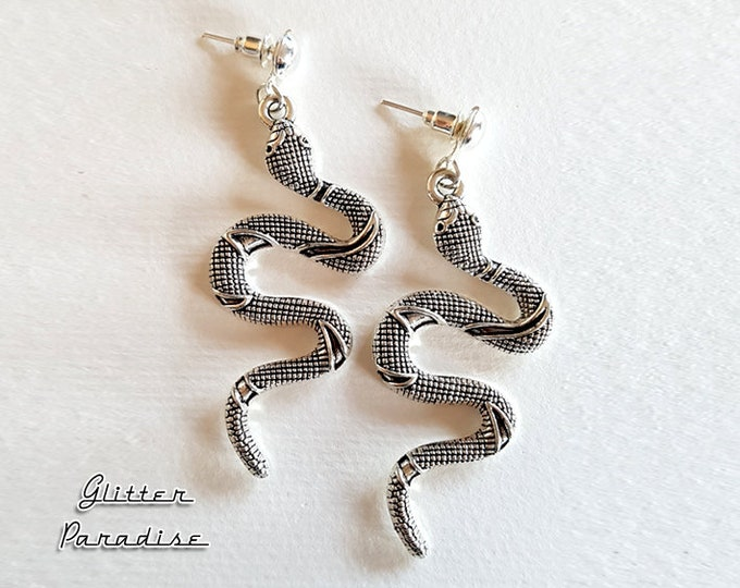 OZ Snakes - Earrings - Snake Priestess -  Magic - Wicca - Witchcraft - Salem Witch - Neo-paganism - Wicca - Witchery - Glitter Paradise®