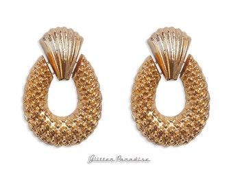 Riviera Pineapple - Earrings - Mid-Century Modern - Hawaii - Tropical Jewelry - Fruit - Piña colada - Pineapple Earrings - Glitter Paradise®
