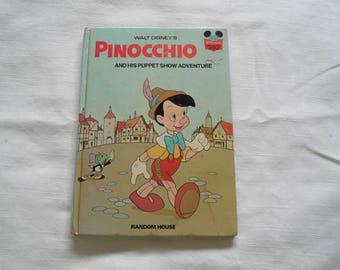 Walt Disney Pinocchio And His Puppet Show Adventure 1973