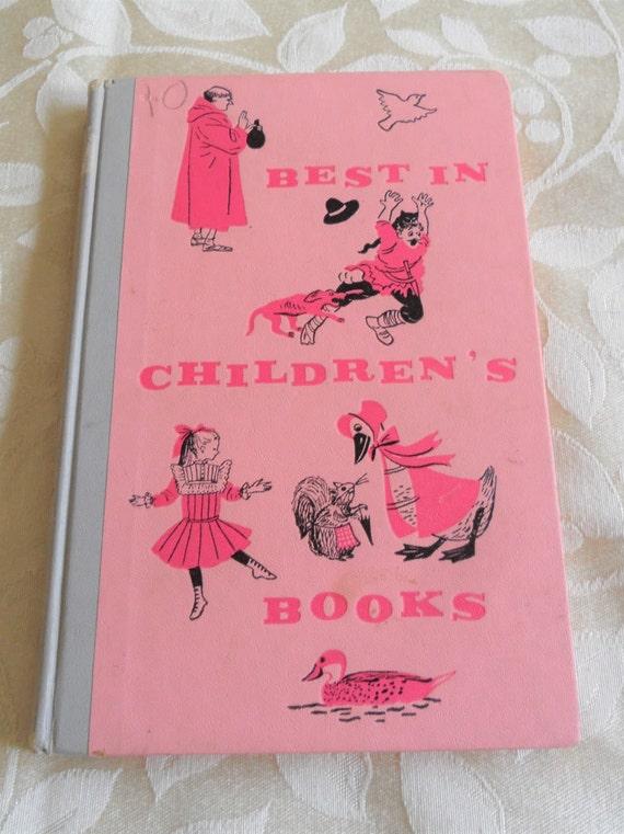 Best In Childrens Books 1960 Andersen James Baldwin Vintage 37