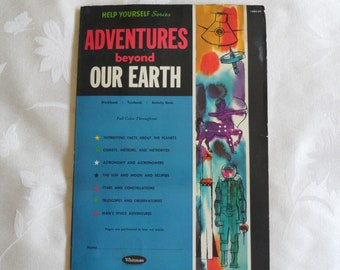 Help Yourself Series Adventures Beyond Our Earth Whitman 1962