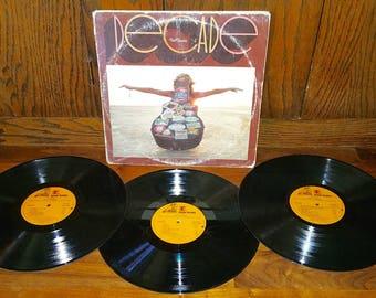 Neil Young Decade Vintage Vinyl Tripple Album
