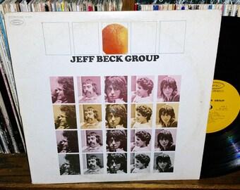 Jeff Beck Group Vintage Vinyl Record