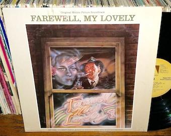 Farewell My Lovely Vintage Vinyl Movie Soundtrack Record