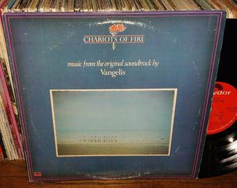 Chariots Of Fire Vangelis Vintage Vinyl Soundtrack Record