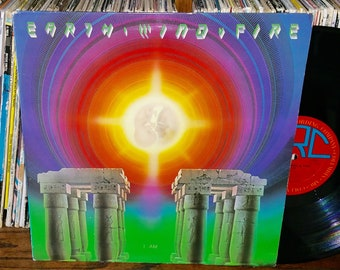 Earth, Wind & Fire I Am Vintage Vinyl Record