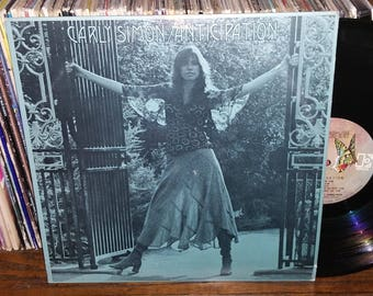Carly Simon Anticipation Vintage Vinyl Record