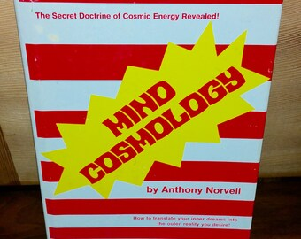Mind Cosmology Vintage Hardcover Book