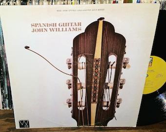 John Williams Spanish Guitar Vintage Vinyl Record