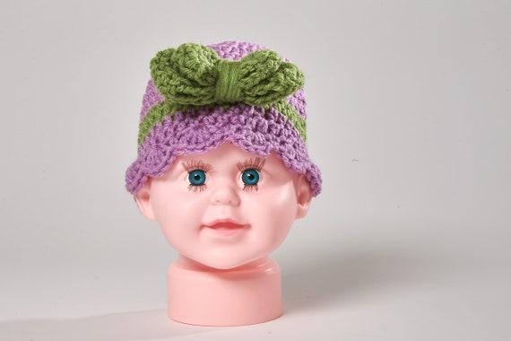 Baby Mädchen Hut Baby Dusche Geschenk Häkelmütze Häkeln Etsy